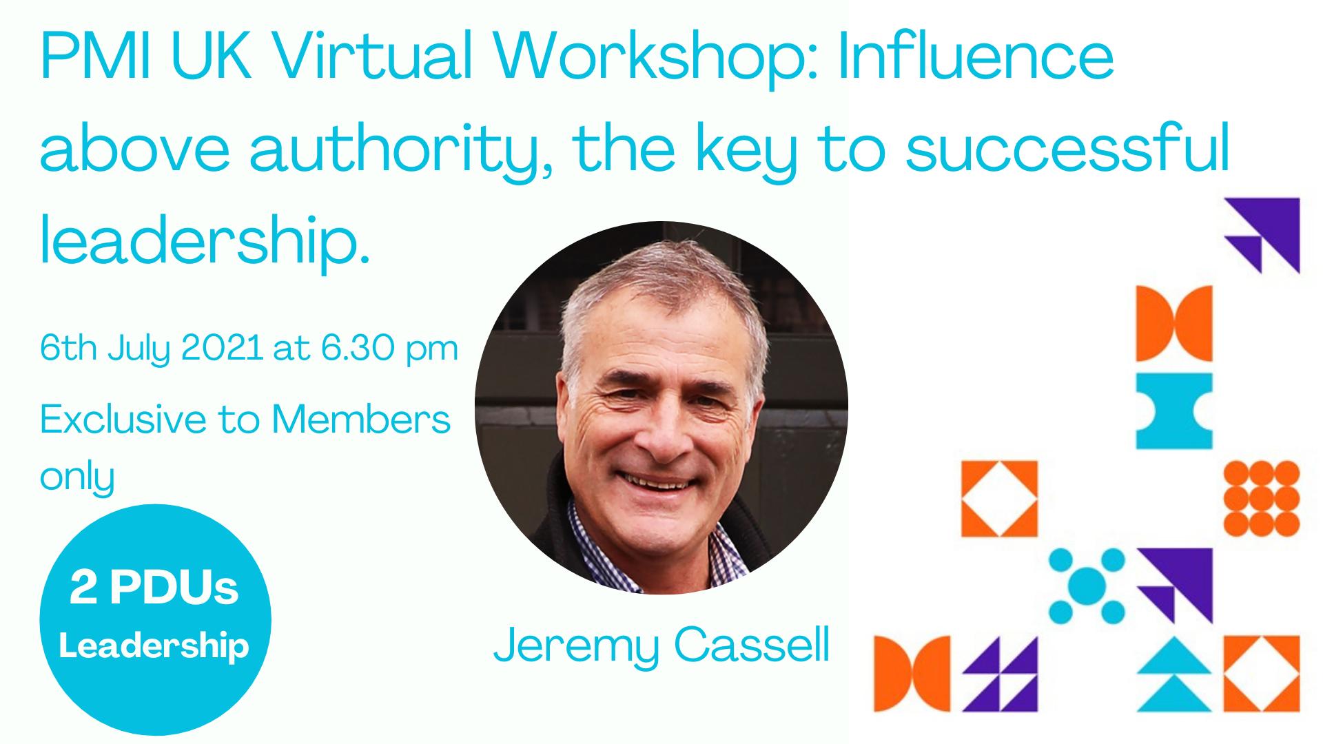 6th July Workshop Jeremy Cassellv2