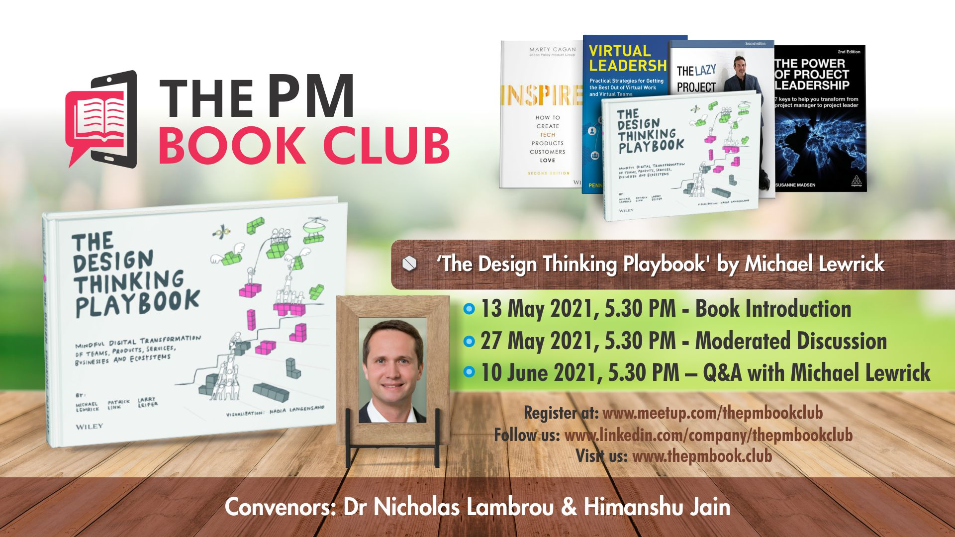 Book Club June 2021 The Design Thinking Playbook