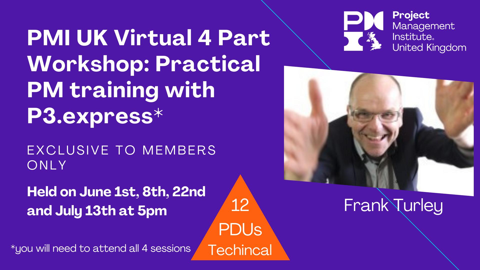 Frank Turley workshops