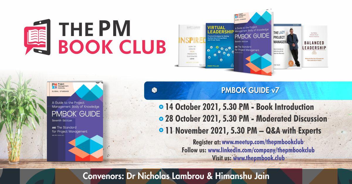 The PM Book Club FB PMBok